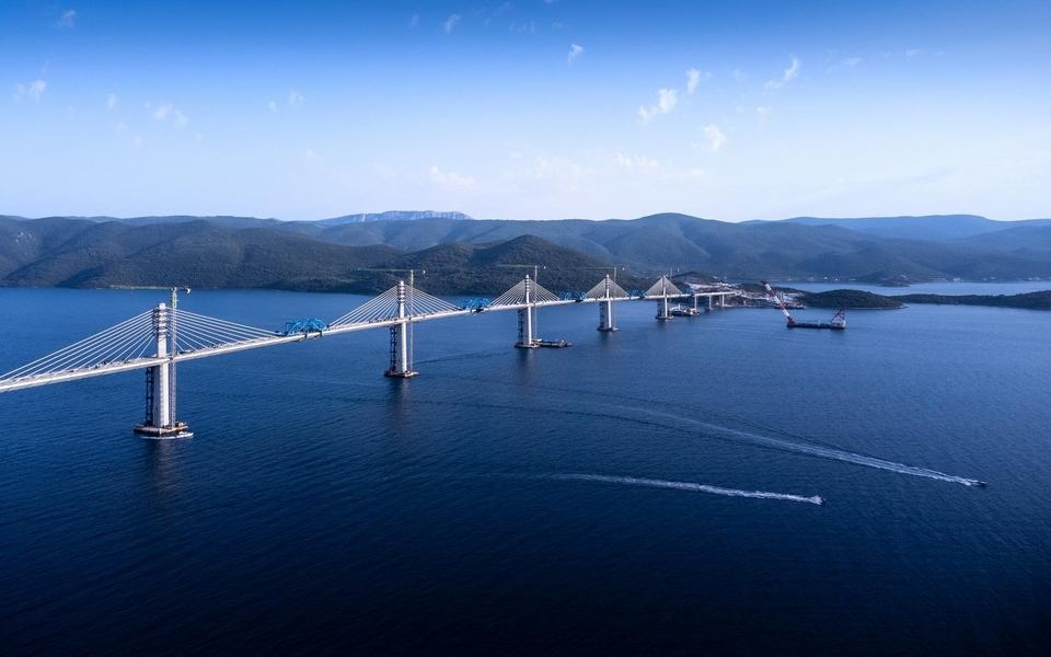 Pelješki most - Pristupne ceste